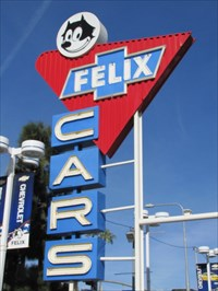 Felix Chevrolet Sign, Los Angeles, California