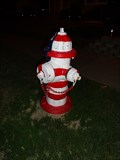 Image for Patriotic Hydrant - Niagra Falls, New York