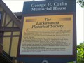 Image for The George H. Catlin Memorial House, home of Lackawanna Historical Society