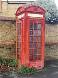 Image for Red Telephone Box - Thackeray Road, Battersea, London, UK