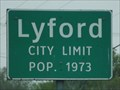 Image for Lyford TX - Pop. 1973