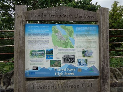 Historic Marker - Llanberis