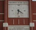 Image for Stadium Clock - University of Oklahoma - Norman, Oklahoma