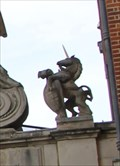 Image for Unicorn -- Temple Bar Gate, Paternoster Square, City of London, UK