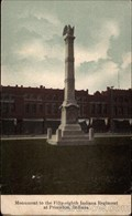 Image for Fifty-Eighth Indiana Regiment Monument ~ Princeton, IN