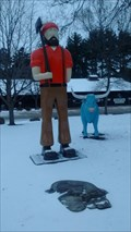 Image for Paul Bunyan and Babe the Blue Ox - Eau Clair, WI, USA