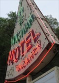 Image for The Wigwam Motel Neon - Cherokee, North Carolina, USA.