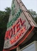 Image for The Wigwam Motel Neon - Cherokee, North Carolina, USA.