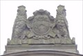 Image for City Coat Of Arms On Free Library - Leeds, UK