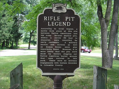 Rifle Pit Marker Picture