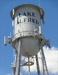 Image for Lake Alfred Water Tower - Lake Alfred, Florida, USA.