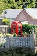 Image for Red Telephone Box - Eel Pie Island, Twickenham, UK