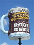 Image for Frostop Root Beer Rotating Neon Mug - LaPlace, Louisiana