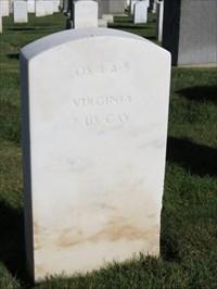 John C Gresham, Backside, San Francisco National Cemetery
