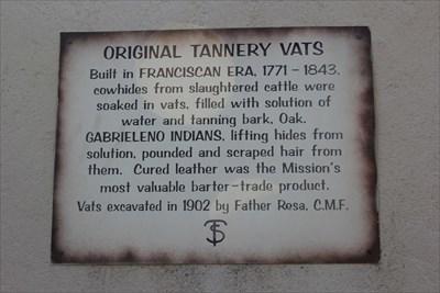 Original Tannery Vats -- Mission San Gabriel Archangel, San Gabriel