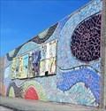 Image for Curves - Mural - Eisenhower Pier, Bangor, Northern Ireland.