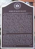 Image for Home of Allen McLane (KC-60) - Smyrna DE