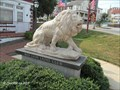Image for Lion Statue, Central Square - Red Lion, PA