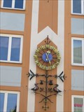 Image for Wall clock on Apotheke, Ledererstr. - München, Germany