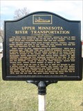 Image for Upper Minnesota River Transportation