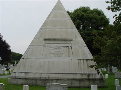 The Viele Pyramid at the West Point Cemetery