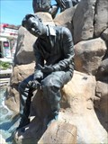Image for Ed Ricketts on the Cannery Row Monument - Monterey, CA