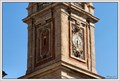Image for Clock on the Bell Tower of Basilica of Saint Stefano Maggiore, Milan, Italy