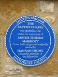 Image for Milton Baptist Chapel