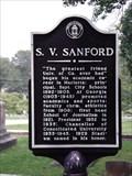 Image for S. V. Sanford  - old Marietta Cemetery in Marietta, Cobb Co., GA