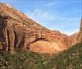 Image for The Great Arch - Zion National Park Scenic Drive - Springdale, UT