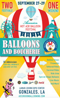 Image for Ascension Hot Air Balloon and Boucherie Festival