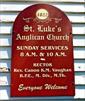 Image for St. Luke's Anglican Church - 1822 - Annapolis Royal, NS