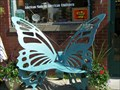 Image for Bumble's Butterfly Bench - Chelsea, MI