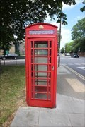 Image for Red Telephone Box - Westcombe Park Road, London, UK