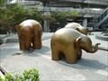 Image for Elephants at Central World - Bangkok, Thailand
