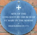 Image for St Mary in the Marsh - The Close, Norwich, UK
