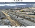 Image for I-90 at Barker Road Webcam - Spokane Valley, WA