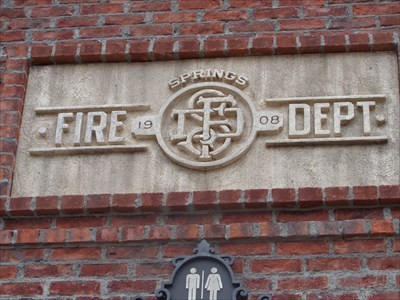 veritas vita visited Springs Fire Department