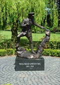 Image for Wilfred Owen Statue, Oswestry, Shropshire, England