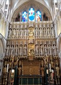 Image for The Great Sceeen - Southwark Cathedral - London, Great Britain.