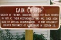 Image for Cain Church - Saline Creek Pioneer Village - Harrisburg, IL