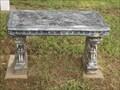Image for Angel bench - Oak Hill Cemetery - Mannford, OK
