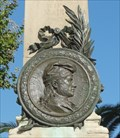 Image for Eastern Pyrenees Army War Memorial Medallion - Banyuls sur Mer, France