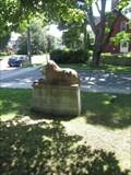 Image for Lion Statue - Lions Club-  Peterborough, ON