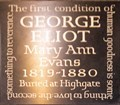 Image for George Eliot (Mary Ann Evans) - Westminster Abbey