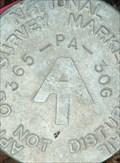 Image for AT - PA 365 30G - Appalachian Trail Survey Marker - Carlisle, PA