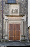 Image for Northern portal of St. Bartholomew Church /  Severní portál kostela Sv. Bartolomeje - Pardubice (East Bohemia)