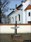 Image for Cross at the Church of St. Procopius / Kríž u kostela Sv. Prokopa / (Cestlice, Central Bohemia)