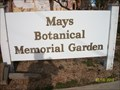 Image for Mays Botanical Garden - Anson Texas