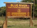 Image for Blue River public fishing and hunting area - Tishomingo, Oklahoma USA